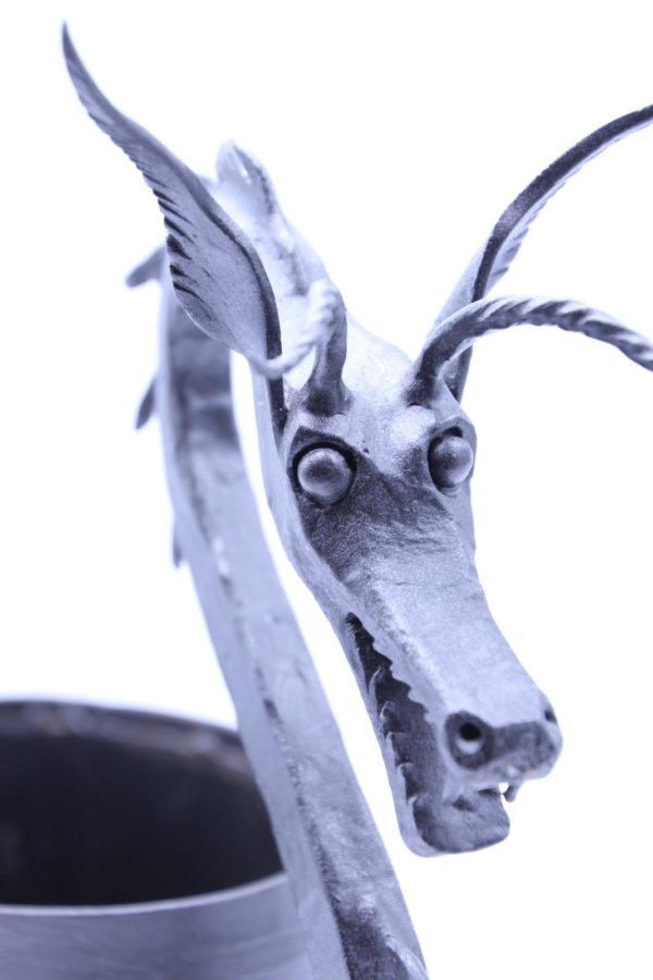 Drachen geschmiedet Detail