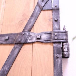 Tuer Sonderanfertigung geschmiedet Holz