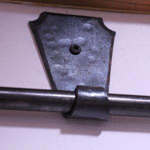 Vorhangstange Eisen geschmiedet