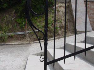 Sonderanfertigung Zaun geschmiedet
